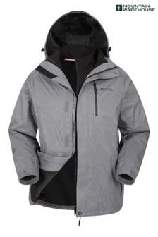 Mountain Warehouse Climb 3 In 1 Extreme Waterproof Jacket