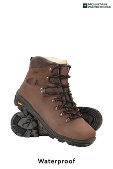 Mountain Warehouse Excalibur Mens Leather Waterproof Boots