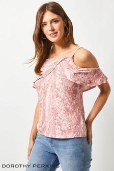 Dorothy Perkins Cold Shoulder Top