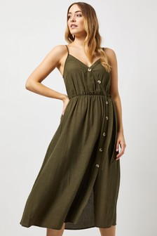 Dorothy Perkins Linen Mix Cami Dress