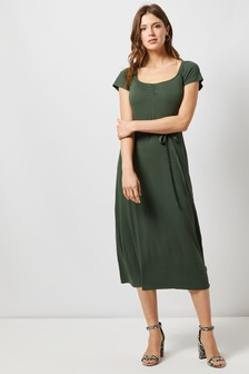 Dorothy Perkins Plain Midi Dress