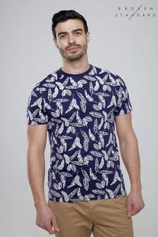 T-shirt Broken Standard imprimé feuilles
