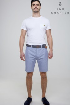 2nd Chapter Belted Chino Shorts