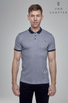 2nd Chapter Textured Polo Shirt