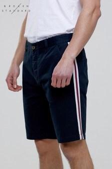 Broken Standard Side Stripe Chino Shorts