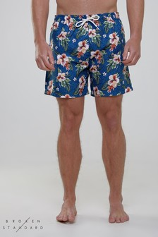 Broken Standard Floral Swim Shorts