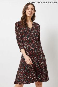 9b242f2265d Dorothy Perkins Ditsy Floral Wrap Dress