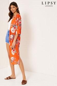 Lipsy Tropical Longline Kimono