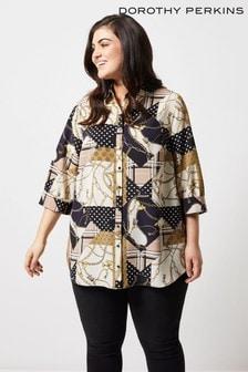 daaa3322d8d Dorothy Perkins Curve Printed Shirt