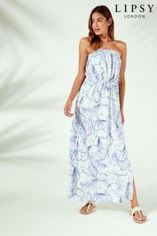 فستان شاطئ ماكسي زهور من Lipsy