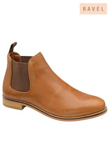 Ravel Leather Chelsea Boot