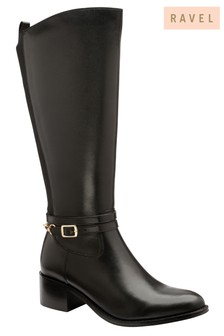 Ravel Knee High Leather Boot