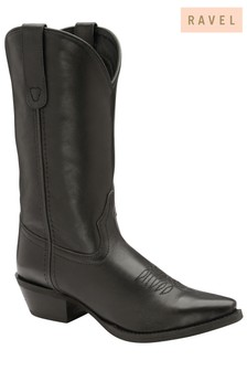 Ravel Leather Western Boot