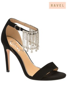 Ravel Diamanté Strappy Sandal