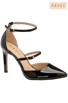 Ravel Cut Out Strappy Court Shoe