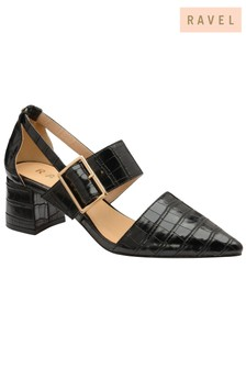 Ravel Block Heel Shoe