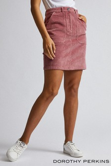 Dorothy Perkins Tall Cord Patch Pocket Skirt