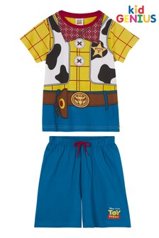 Missimo Nightwear Woody Character Shorts PJ Set