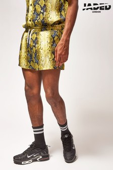 Jaded London Snakeskin Shorts