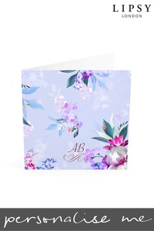 Personalised Lipsy Lucia Monogrammed Notelet Cards By Croft Designs