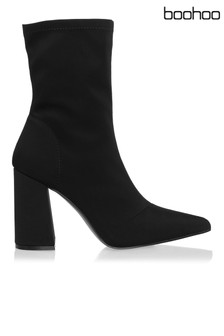 Boohoo Fitted Sock Boots