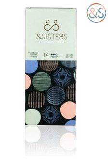 &Sisters | Plastic-free Tampons | Organic | Eco-Applicator | Medium