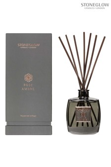 Stoneglow Metallique Collection Rose Ambre Reed Diffuser