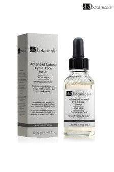 Dr Botanicals Pomegranate Noir Advanced Natural Eye & Face Serum for Men