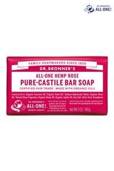 Dr. Bronner's Organic Rose Soap Bar 140g