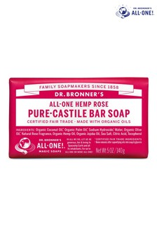Dr. Bronner's Organic Rose Soap Bar