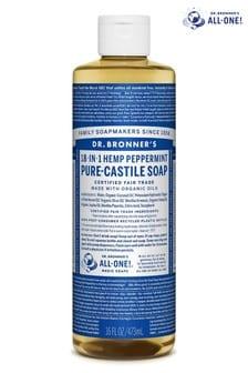 Dr. Bronner's Organic Peppermint Castile Liquid Soap