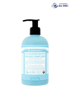 Dr. Bronner's Organic Sugar Pump Soap Baby Unscented 355 ML