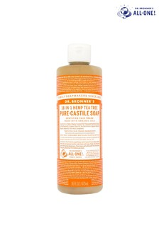 Dr. Bronner's Organic Tea Tree Pure-Castile Liquid Soap 473 ML