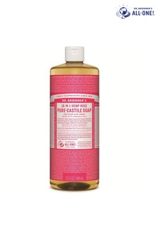 Dr. Bronner's Organic Rose Castile Liquid Soap 946ml