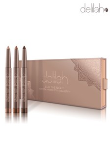 delilah Stay The Night - Smooth Shadow Stick Collection (Worth £66)