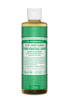 Dr. Bronner's Organic Almond Castile Liquid Soap 237ml