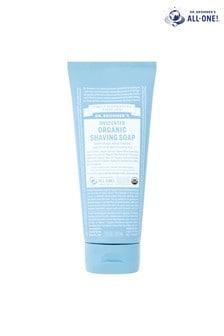 Dr. Bronner's Organic Shaving Soap Unscented 207 ML