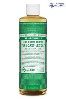 Dr. Bronner's Organic Almond Castile Liquid Soap