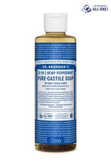 Dr. Bronner's Organic Peppermint Castile Liquid Soap 237ml