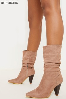 Bottines PrettyLittleThing amples