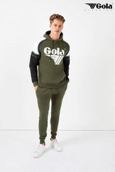 Gola Logo Panelled Joggers