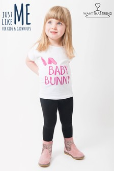 Want That Trend Mummy and Me Mummys Bunny T-Shirt