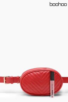 Boohoo Quilted Bumbag
