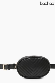 Boohoo Curve Quilted Bumbag