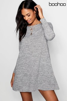 Boohoo Knitted Swing Dress