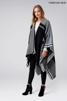 Forever New Colour Block Cape