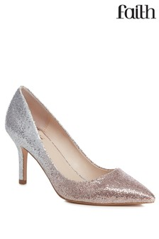 3f4e654a18f2 Silver Shoes | Silver Embellished Shoes | Next Official Site
