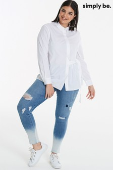 Simply Be Curve Ring Detail Shirt