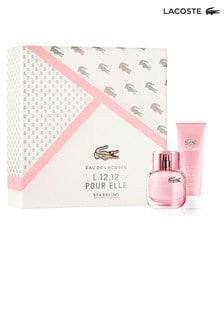 Lacoste L.12.12 Pour Elle Sparkling Eau de Toilette 30ml Gift set