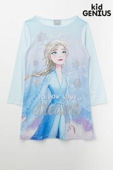Kid Genius Long Sleeved Disny Frozen Nighty